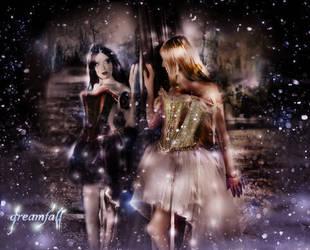 Dreamfall with elandria by L-A-Addams-Art