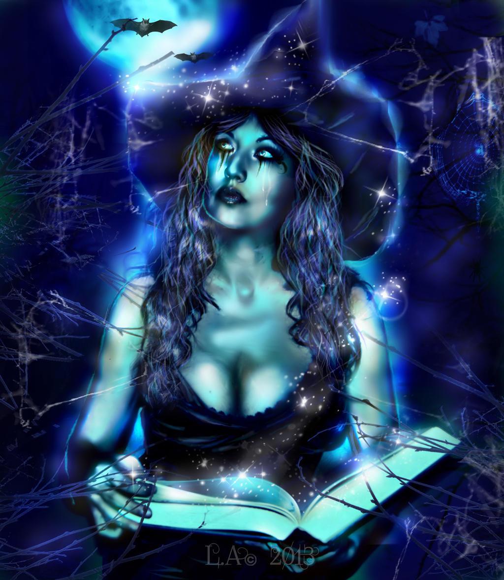 spells by L-A-Addams-Art