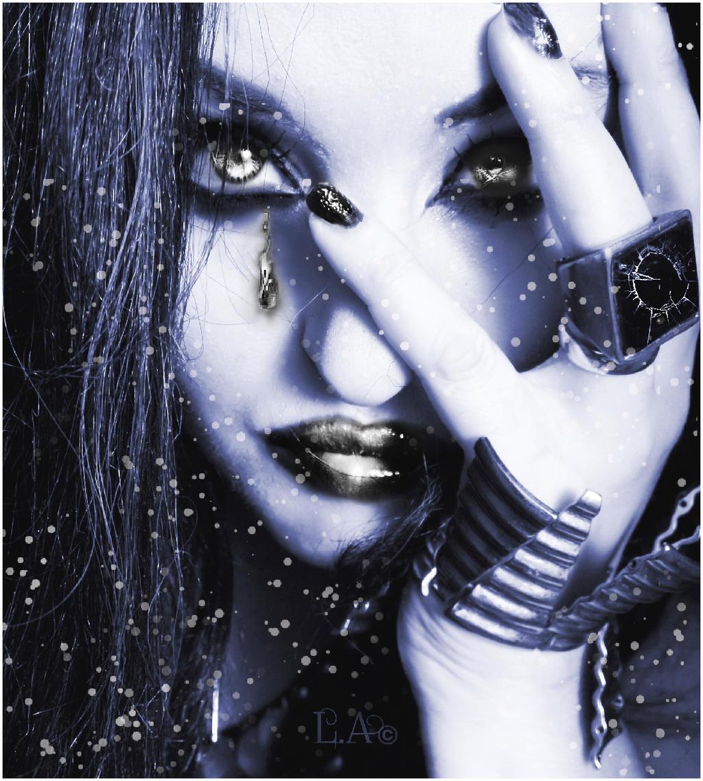 nitro blue by L-A-Addams-Art