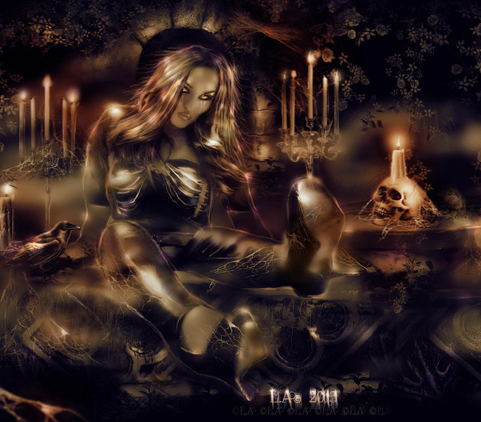 eternally yours by L-A-Addams-Art