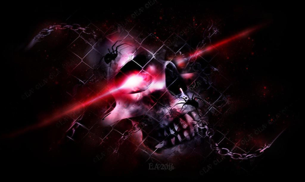 skull fxxked by L-A-Addams-Art