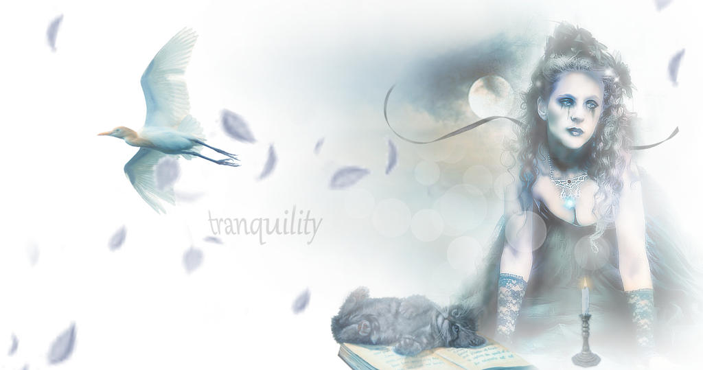 Tranquility by L-A-Addams-Art