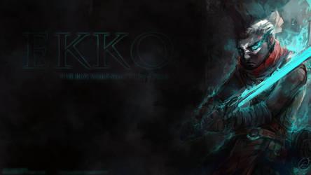 Ekko, the boy who shattered time wallpaper
