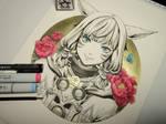 Inktober - Day 02 - Final Fantasy XIV Y'shtola