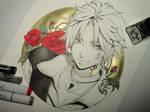Inktober - Day 03 - Thancred Final Fantasy XIV