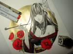 Inktober Day 24 - Yotsuyu FFXIV