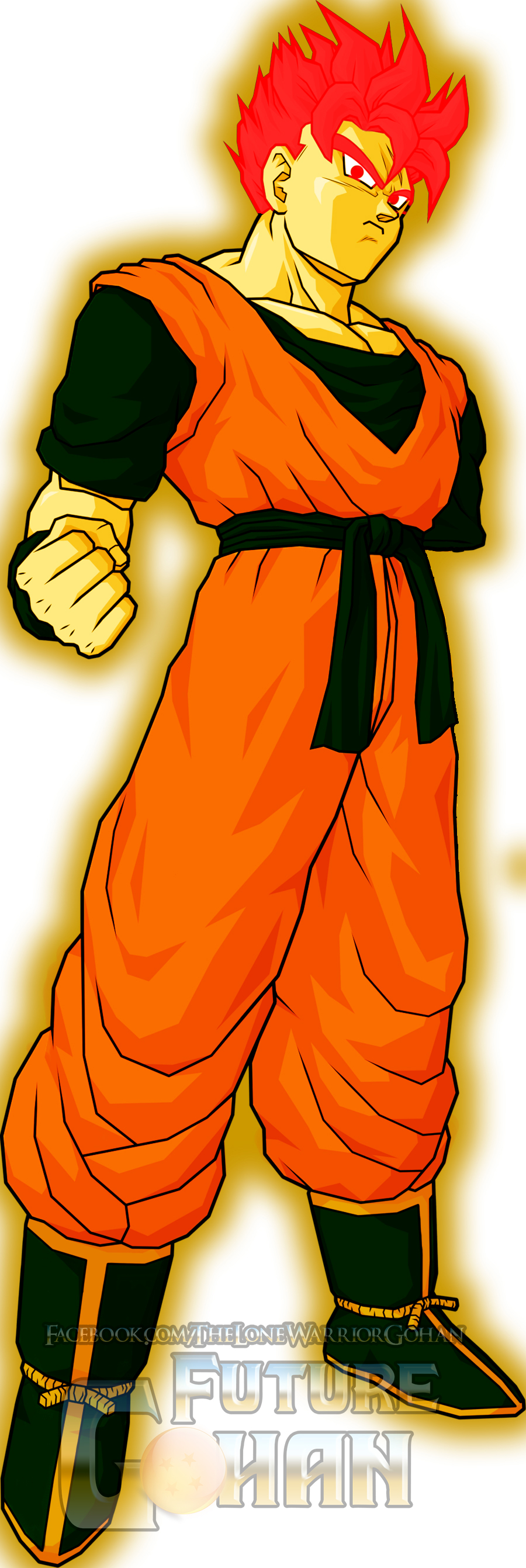 Super Saiyan God Future Gohan by TheLoneWarriorGohan on ...