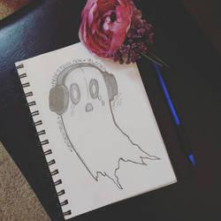 Undertale: Blooky Sketch by TouchedVenus