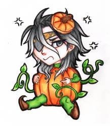Chibi: Grumpy Pumpkin Wesley [SWD: Oz+] by TouchedVenus