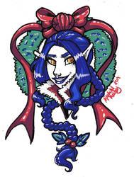 [OC] Sapphirine - Christmas Bust