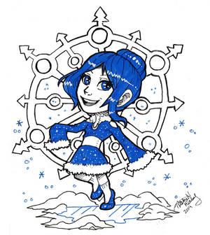 [Gift] Happy Holidays! - Chibi Kouri