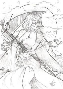 OC: Rain Sketch