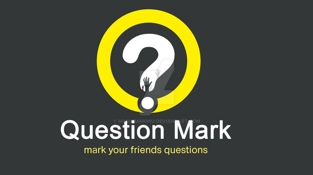 Question Mark Logo 03 by madaramonu