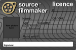 Source Filmmaker Licence V2 (Blank)