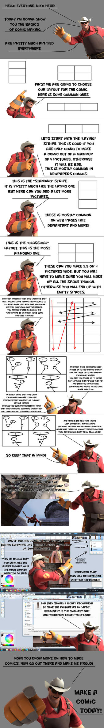Niko's how to make a Comic by Nikolad92