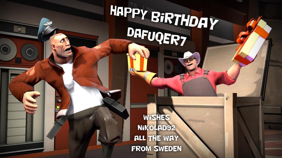 Happy BirthDay Dafuqer7 by Nikolad92