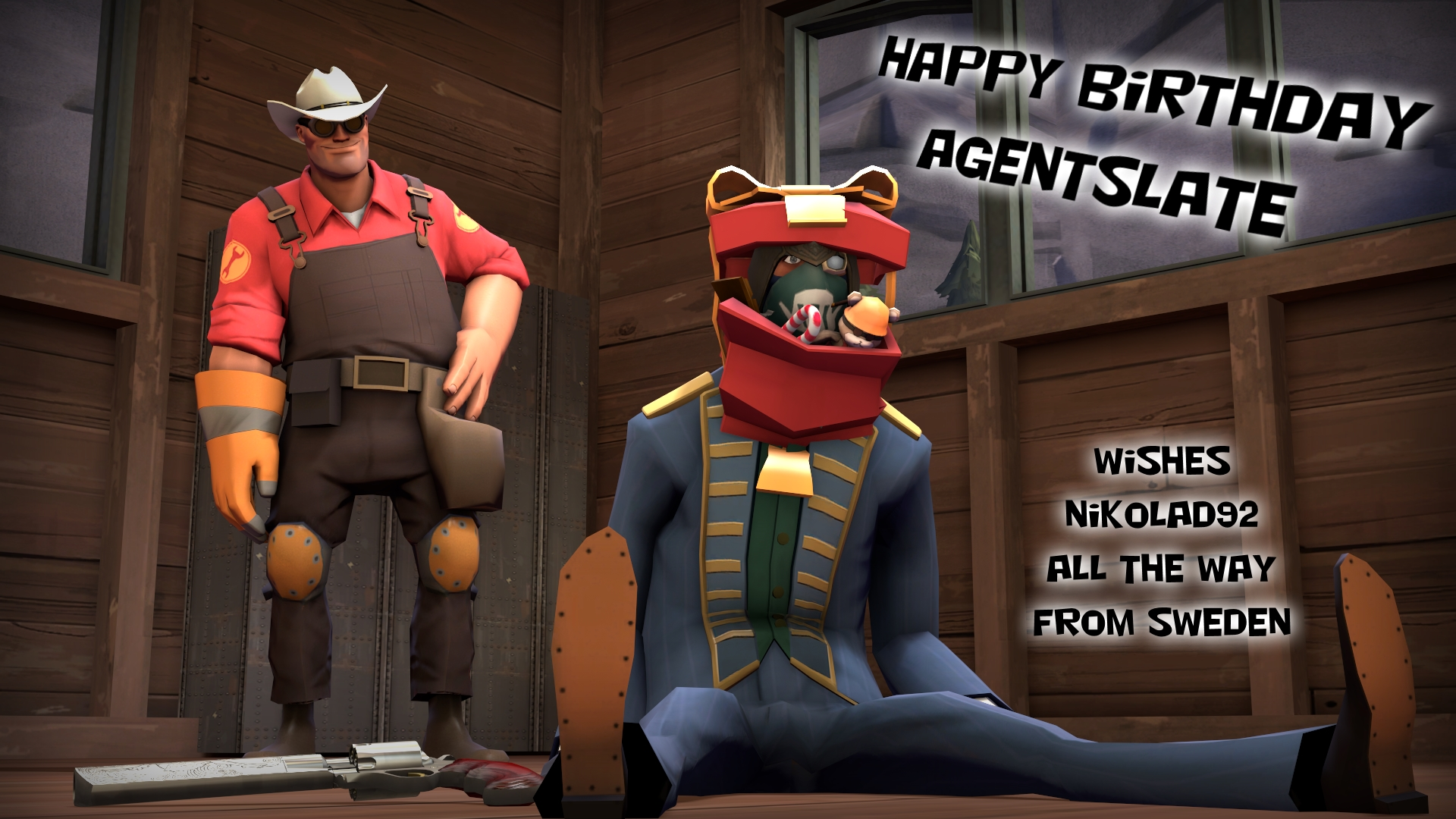 Happy BirthDay agentslate by Nikolad92