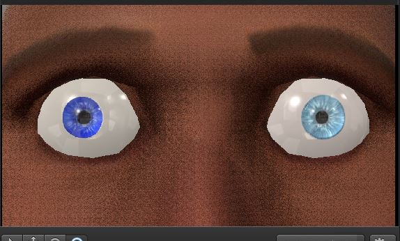 Eye reskin test 2 by Nikolad92