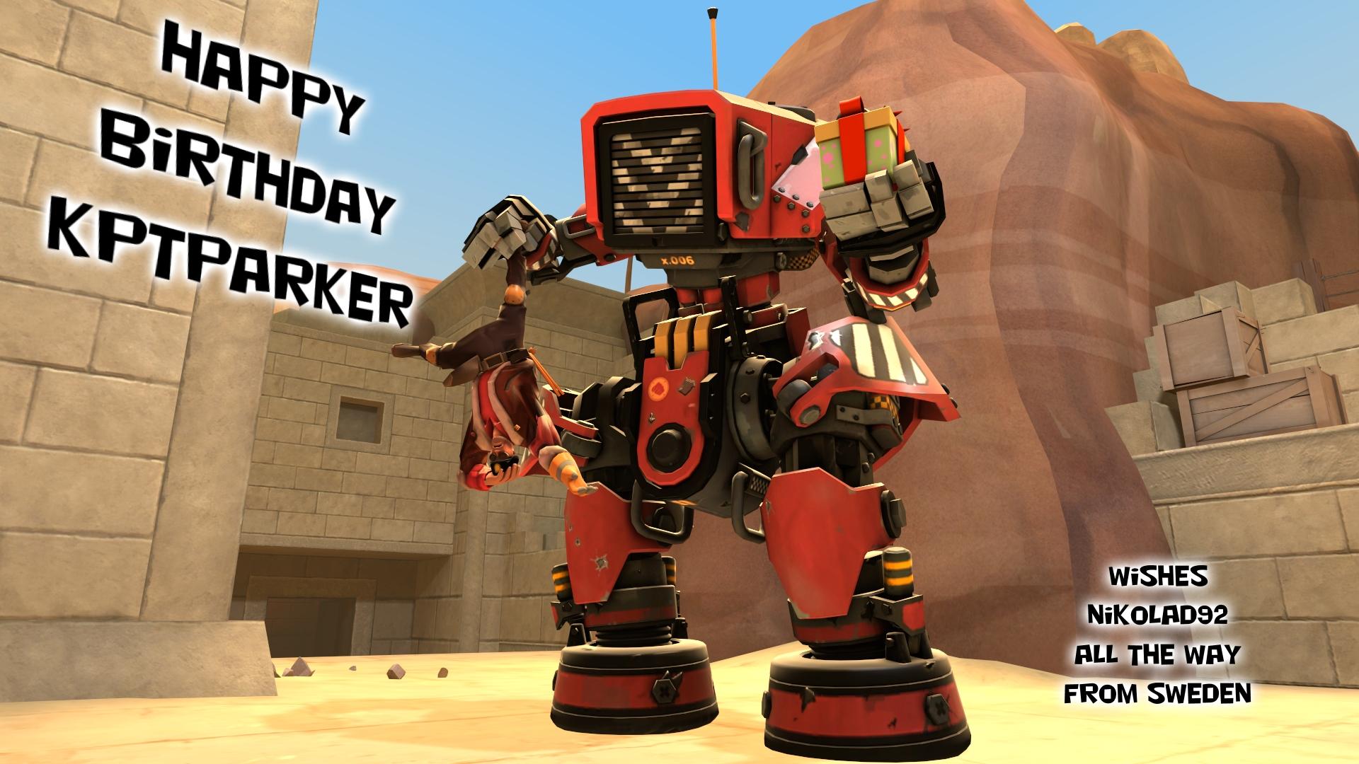 Happy Birthday kptparker by Nikolad92
