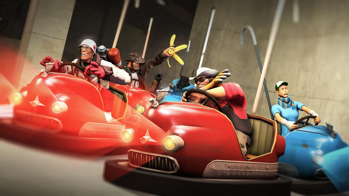 Team Kart Fortress 2 by Nikolad92