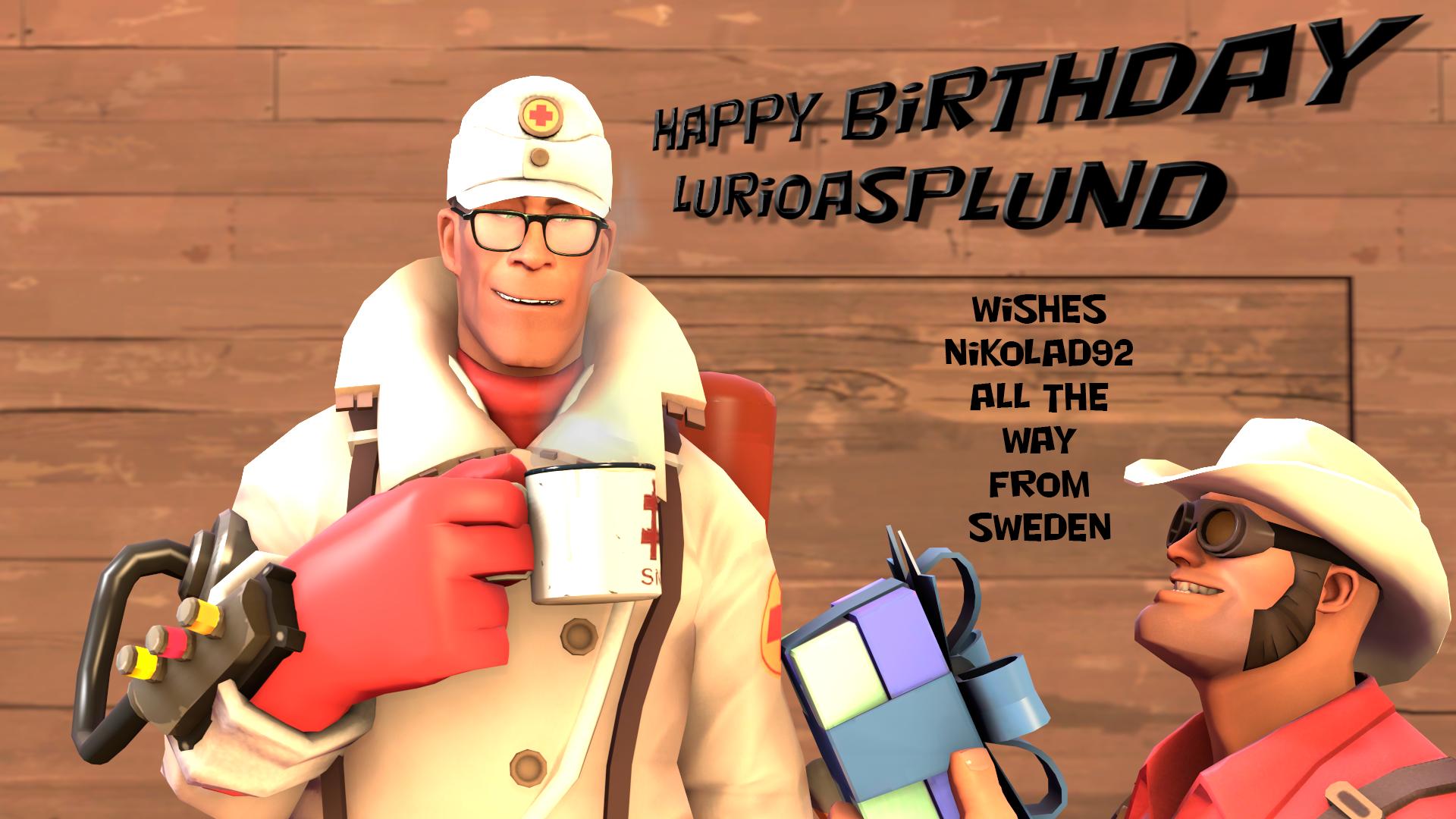 Happy Birthday LurioAsplund by Nikolad92