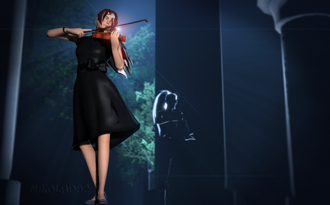 Violin by Nikolad92