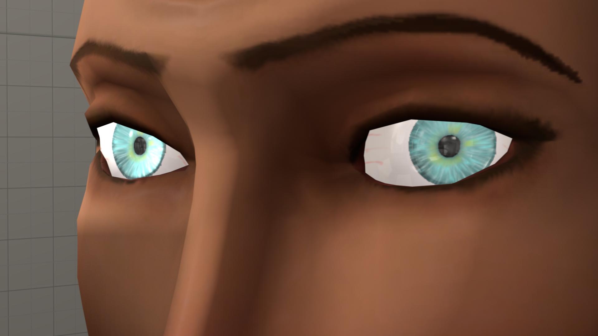 New Eye texture by Nikolad92