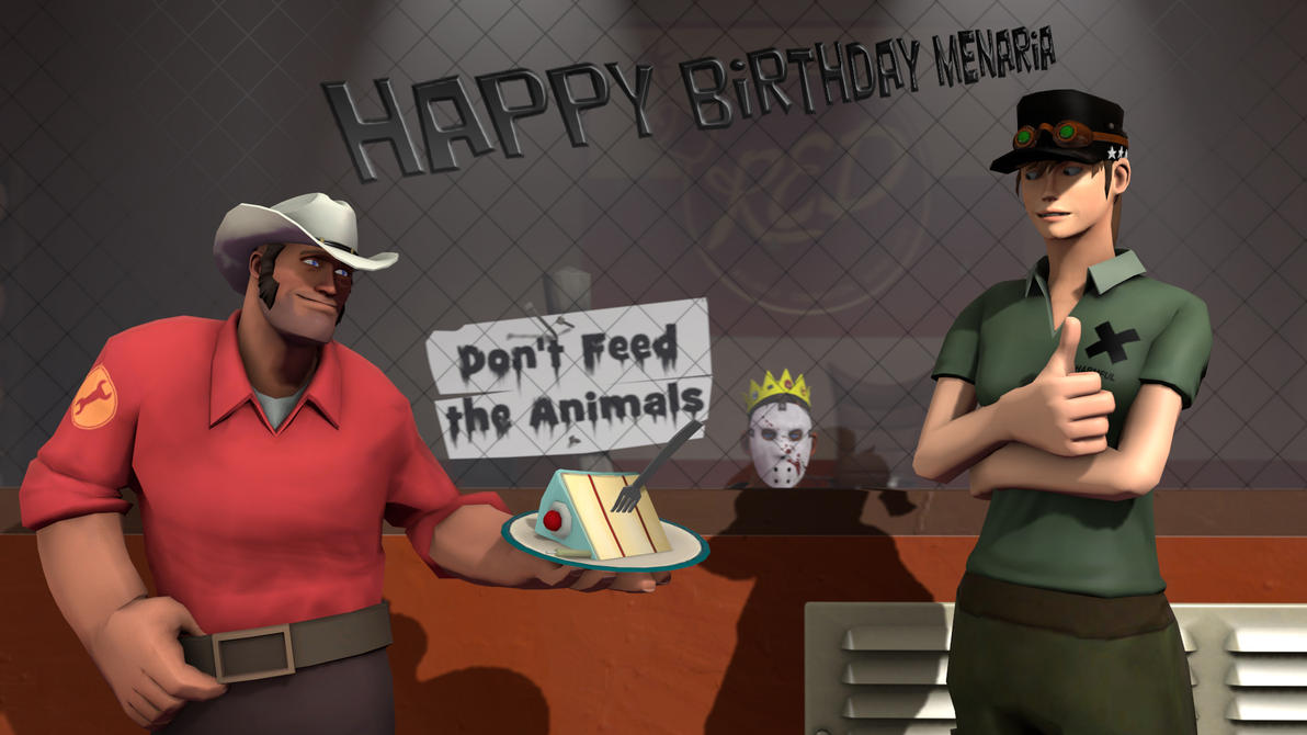 Happy Birthday Menaria by Nikolad92