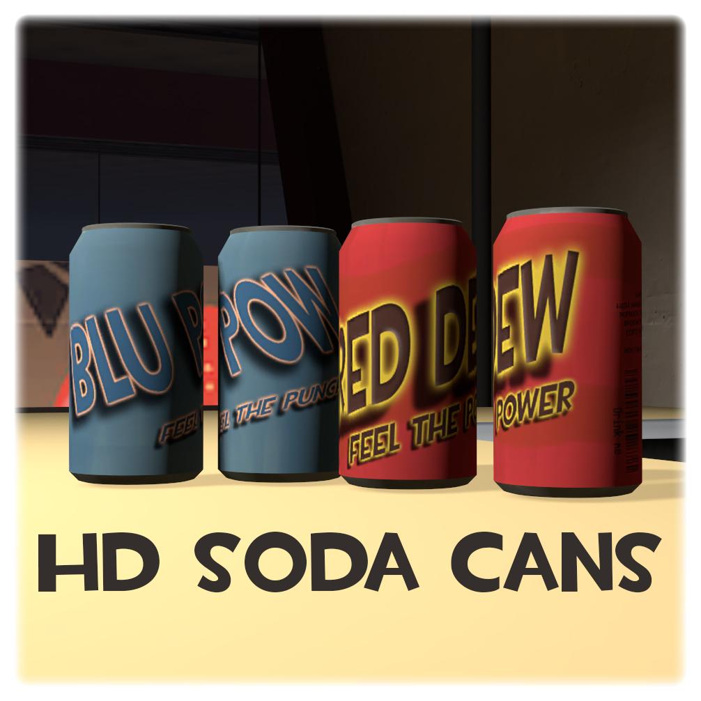 HD soda can [SFM Workshop item] by Nikolad92