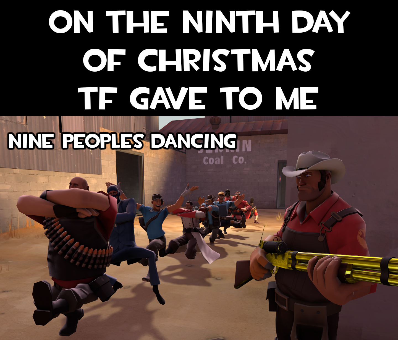 Ninth day of christmas by Nikolad92