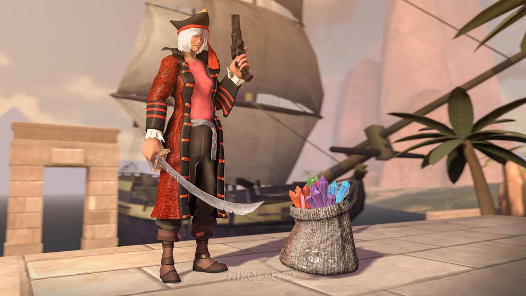 Pirate by Nikolad92