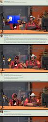 Ask Niko and Samurai P71 by Nikolad92