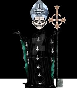 Papa Emeritus II. by Lyserath
