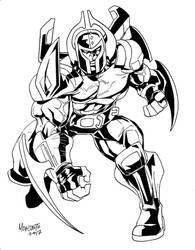 Nephilus of the Cosmic Vanguard! by Captain-Unity