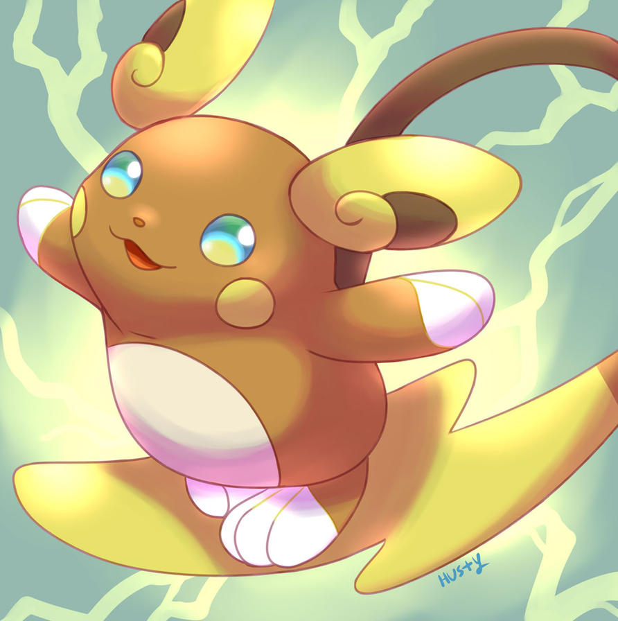 Pokemon Raichu Alola Form 629194350