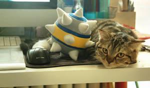 TF2 My TF2 little cat by biggreenpepper