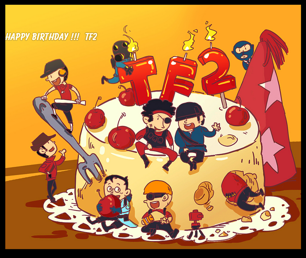 TF2 Happy Birthday TF2 By Biggreenpepper On DeviantArt