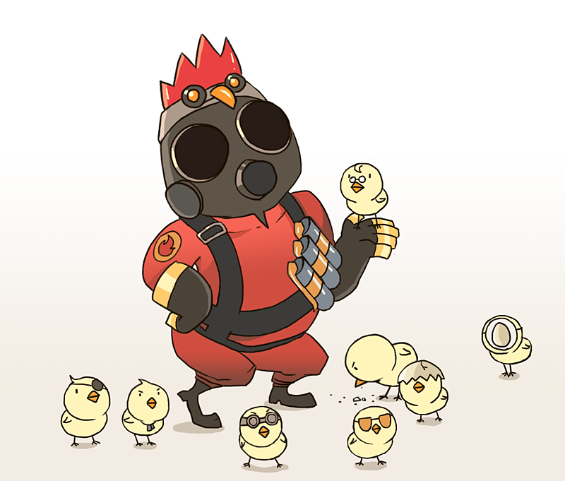 TF2 pyro mother by biggreenpepper