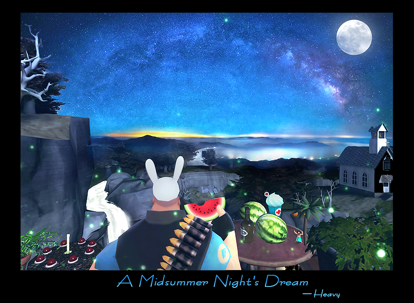 TF2 A Midsummer Night's Dream by biggreenpepper