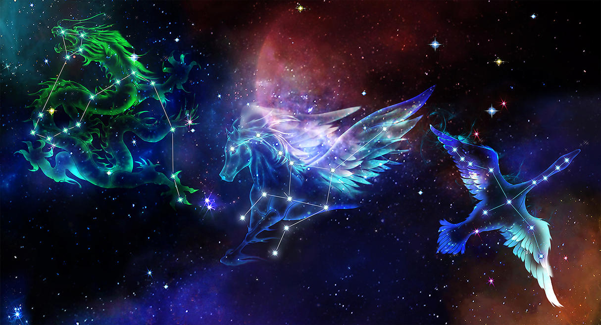 Saint Seiya CONSTELLATION by biggreenpepper