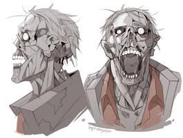TF2 zombie Sniper by biggreenpepper