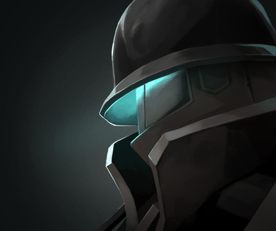 tf2 Soldier MVM by biggreenpepper