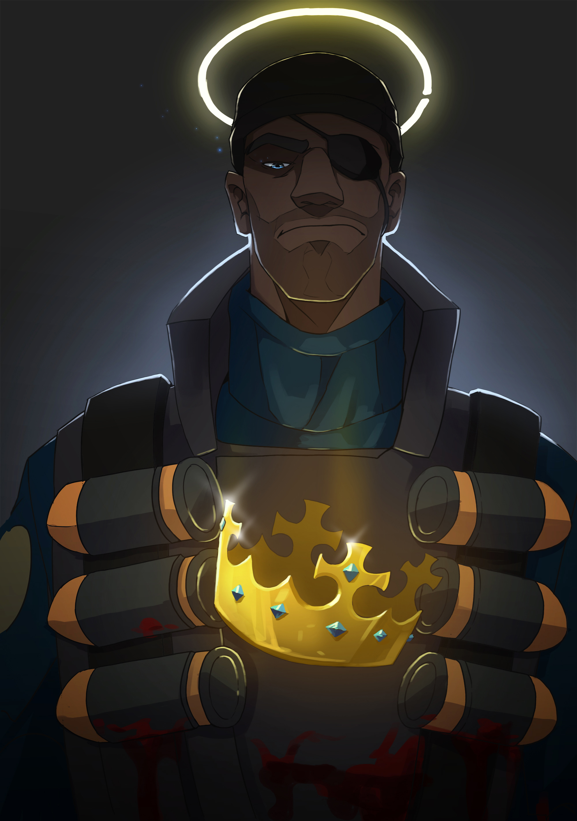 light demoman by biggreenpepper