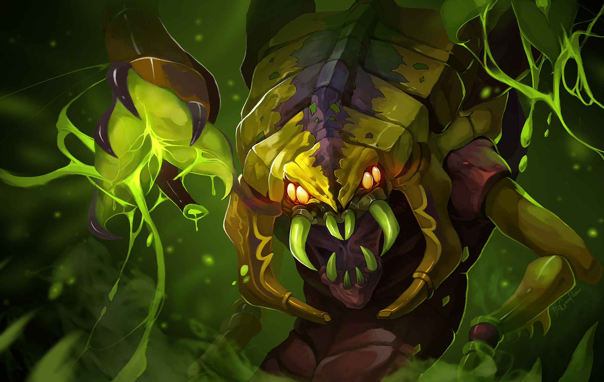 DOTA 2 Lesale Deathbringer by biggreenpepper