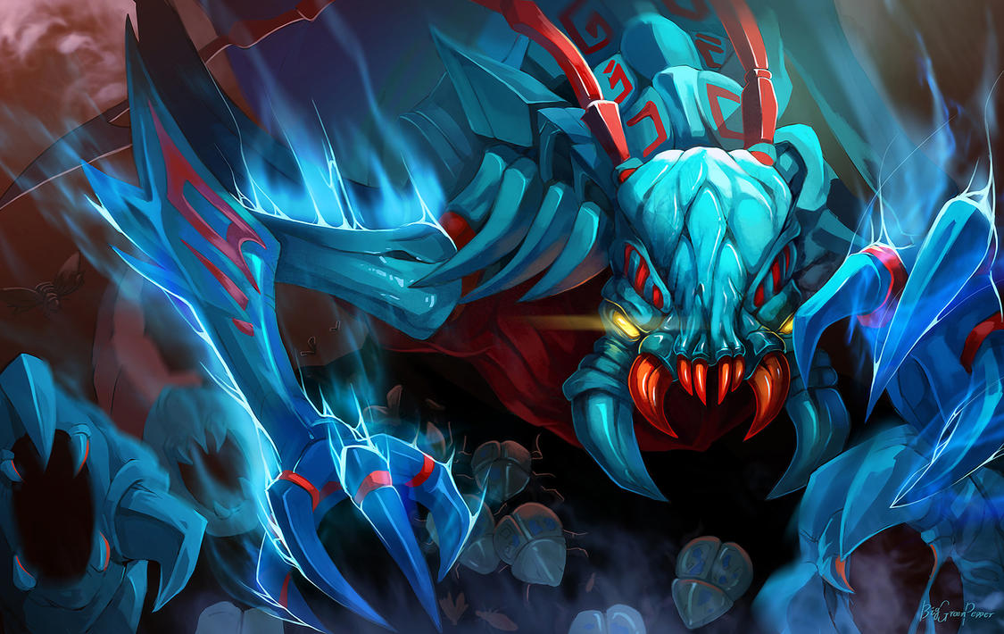 dota2 The Weaver -Skitskurr by biggreenpepper