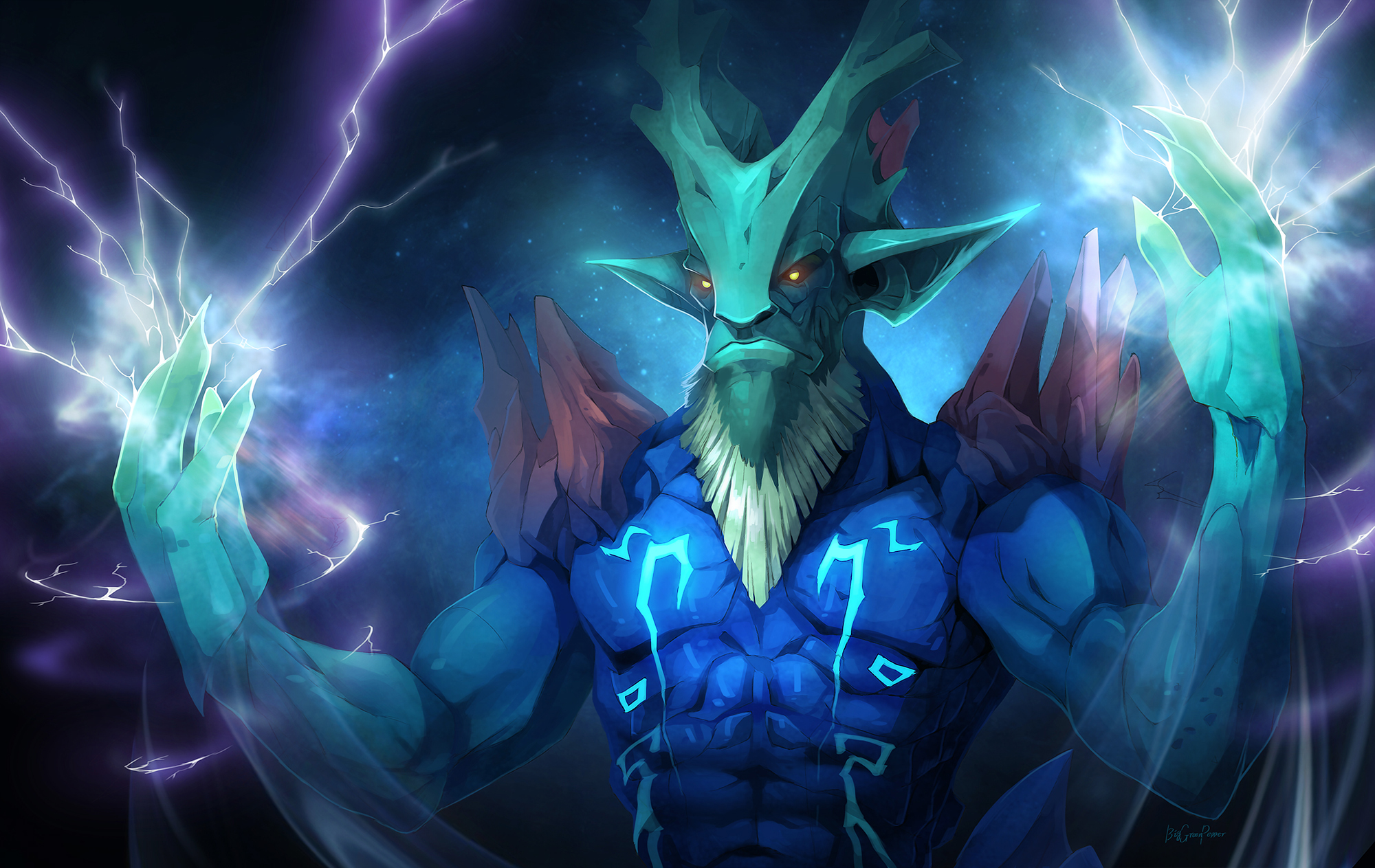 dota2 Leshrac by biggreenpepper