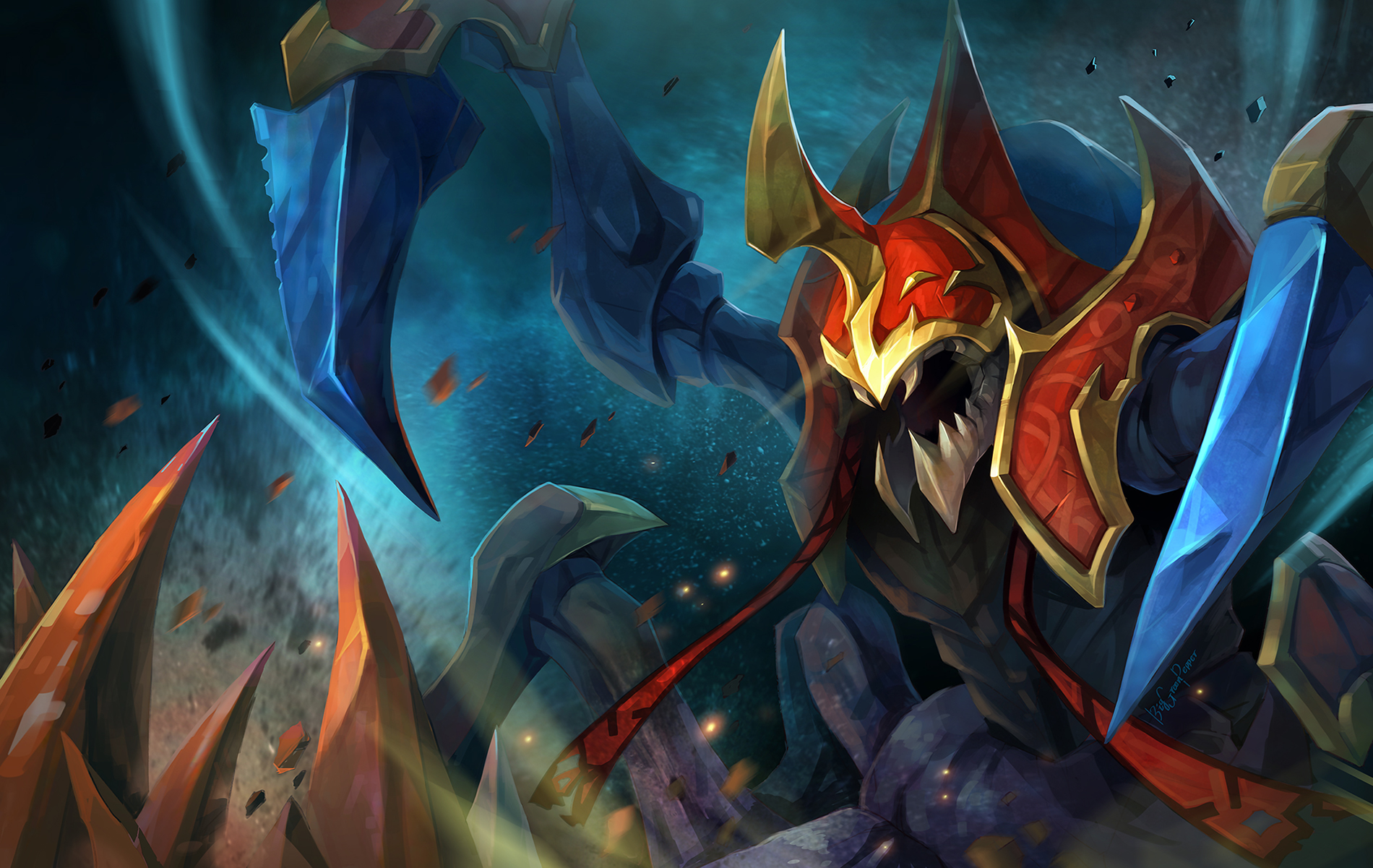 Nyx Assassin Build Guide DOTA 2: Gankers Guide to Nyx Assassin