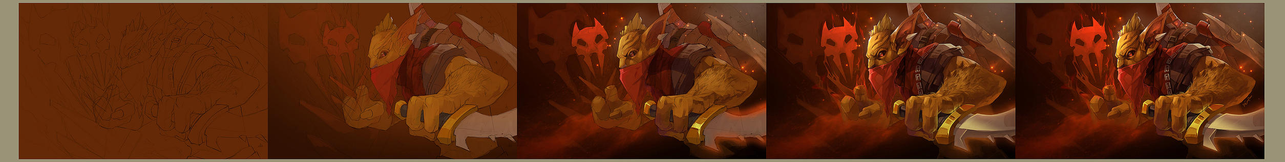 dota 2 12345 by biggreenpepper
