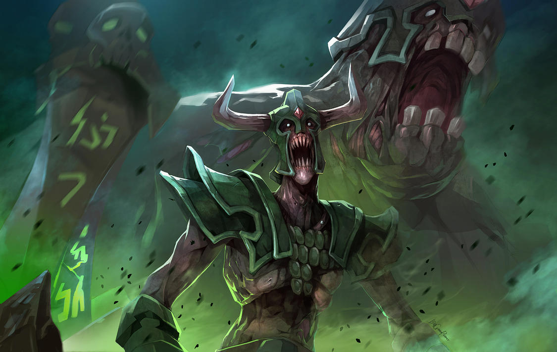 dota2 Dirge by biggreenpepper