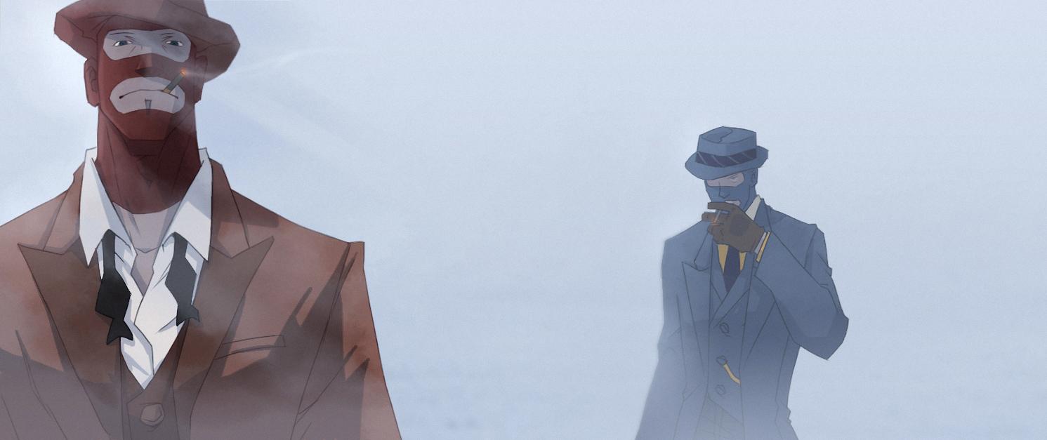 tf2 The fog by biggreenpepper